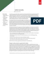 PDF Application Security