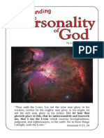 Personality of God