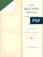 Dr. Szentkláray Jenő - Debreczeni Bárány Ágoston élete és munkái
