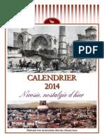 2014 Calendar - Yesterday's Nostalgic Nicosia (French)