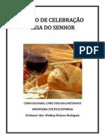 Liturgia Santa Ceia Faculdade Methodus