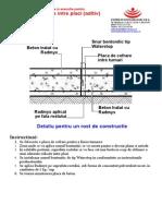 Detalii de Proiectare Pentru Constructii Noi - Hidroizilare Radymix