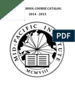 HS Course Catalog 2014-2015