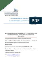 P-0057 Responsabilidad Del Contador Publico en La Deteccion de Operaciones de Lavado y Finaniamiento Del Terrorismo Carmen Suarez(1)