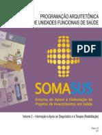 SOMASUS Volume 2 Internação e Apoio ao Diagnóstico e à Terapia (Reabilitação)