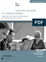 ExecutiveSummary_Preparing Black and Latino Young Men for College and Careers (2013)