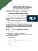 Elemente de teoria estimaţiei