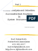 Successful Best Practice in Procurement Management