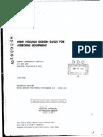 High Voltage Design for Airborne Equip.