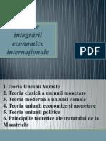 Teoriile integrării economice internaționale
