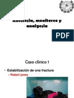 Anestesia, monitoreo y analgesia intensificación 1