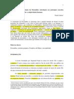 A história e a constituição da Psicanálise - introdução aos principais conceitos freudianos para entender a subjetividade humana