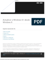 Actualizar a Windows 8.1 Desde Windows 8 - Microsoft Windows