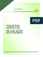 Apresentacao Conceitos de Avaliacao 2012 Modo de Compatibilidade