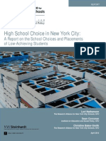 High School Choice in New York City