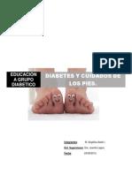 Educacion Diabetes y Cuidados de Los Pies.