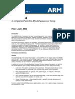 CortexR4 ARM9E Comparison Whitepaper Final