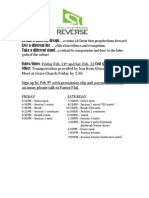 Reverse Conference Info