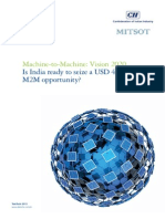 M2M Vision 2020_Deloitte_Is India Ready for USD 4.5 Trillion Opportunity
