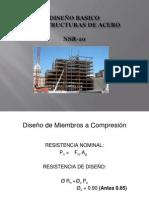 Diseño de Estructuras de Acero - UdeA - 2013-I COMPRESIÓN