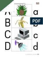 Alphabet - Anlautbilder groß