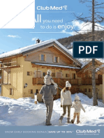 Club Med Ski Snow Holidays for families
