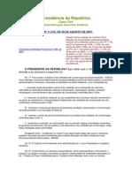 Lei 11_516 de 2007 - Icmbios