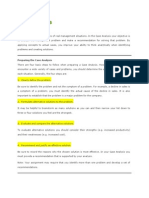 Case Analyses by Pamella Hubbard