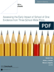 Executive Summary_Assessing the Early Impact of School of One