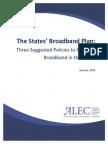A States' Broadband Plan