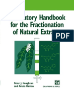 Laboratory Hand Book for the Fractionation of Natural Extracts