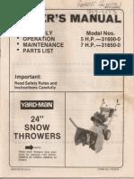 Snowblower Manual0001