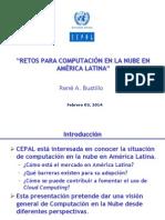 Rene Bustillo, consultor CEPAL en Seminario Cloud Computing organizado por CEPAL y PAÍS DIGITAL