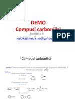 DEMO LECTIA 12 Compusi Carbonilici