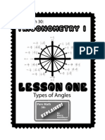 Pure Math 30 - Trigonometry Lesson 1