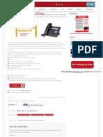 Panasonic Kx Ut113b Basic Sip Phone Intersoft de Latinoamerica
