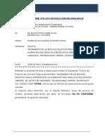 Informe de Evaluacion Expediente