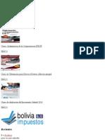 Planilla Tributaria RC IVA, Formato Excel Para Descargar Gratis