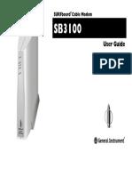 Sb3100 Manual