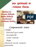 Viata Spirituala a Provinciei Romane Dacia