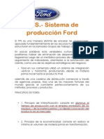 Sistema de Produccion Ford