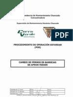 06 CMM-C011 _POE Cambio de Pernos en Bandejas de Apron Feeder