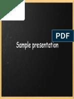 Physics for High School - Sample Presentation