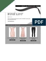 Amanda Rizk's Wish List February