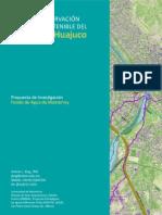 Plan para el desarrollo integral del cañon del Huaxuco