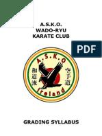 A.s.k.o. Wado-ryu Karate Club