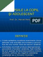 Epilepsiile la copil şi adolescent