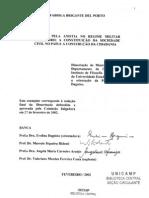 A Luta Pela Anistia No Regime Militar Brasileiro