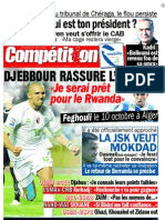 Edition du 1 Octobre 2009