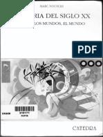 NOUSCHI, Marc - Historia Del Siglo XX (Cap X-Conclusion-Fechas)